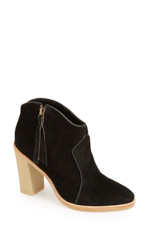 10 Crosby Derek Lam Maddox Suede Bootie #bootie #women #shoes #fashion #