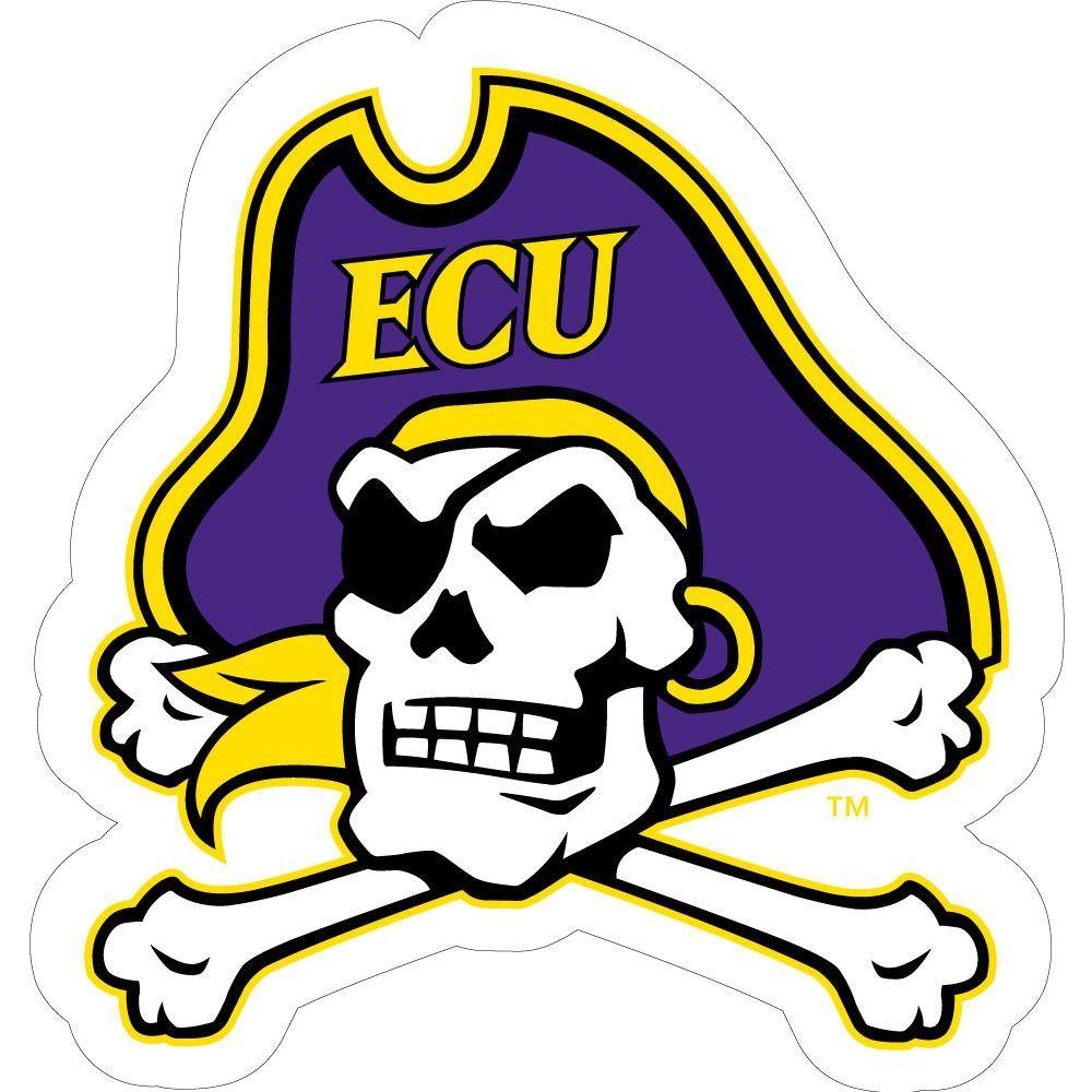 ECU Jolly Roger Skull SMALL BALL East carolina