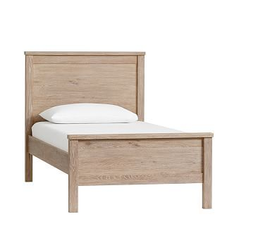 Charlie Twin Low Footboard Bed  Luxury Firm Mattress, Smoked Gray