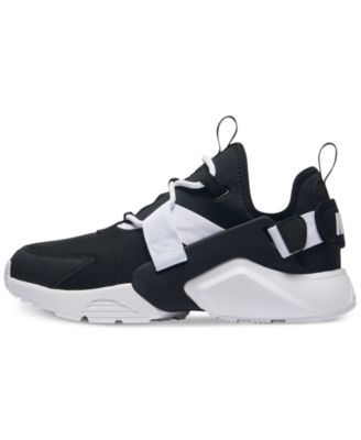 93808c04df8 Nike Women s Air Huarache City Low Casual Sneakers from Finish Line - Black  5.5
