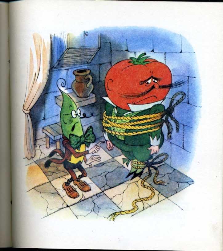 иллюстрация к чиполлино картинки кто скрывал