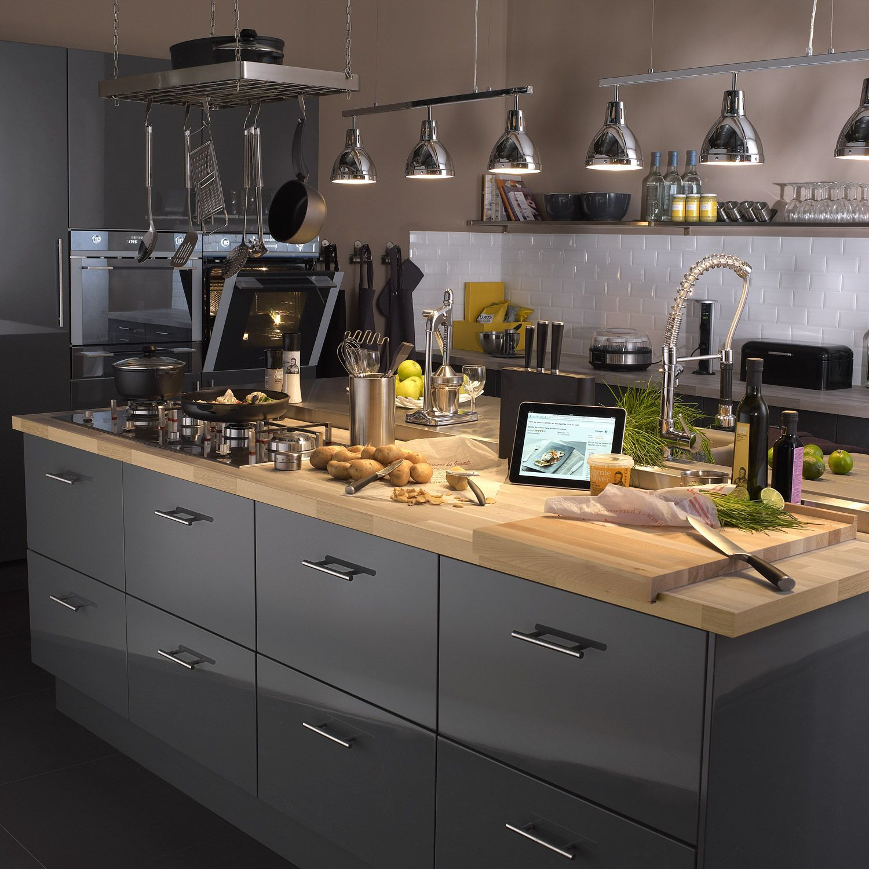 Cuisine Cuisines Ixina Ixinafrance Kitchen Interiordesign Design Bois Grise Meuble Cuisine Amenagement Cuisine Cuisine Gris