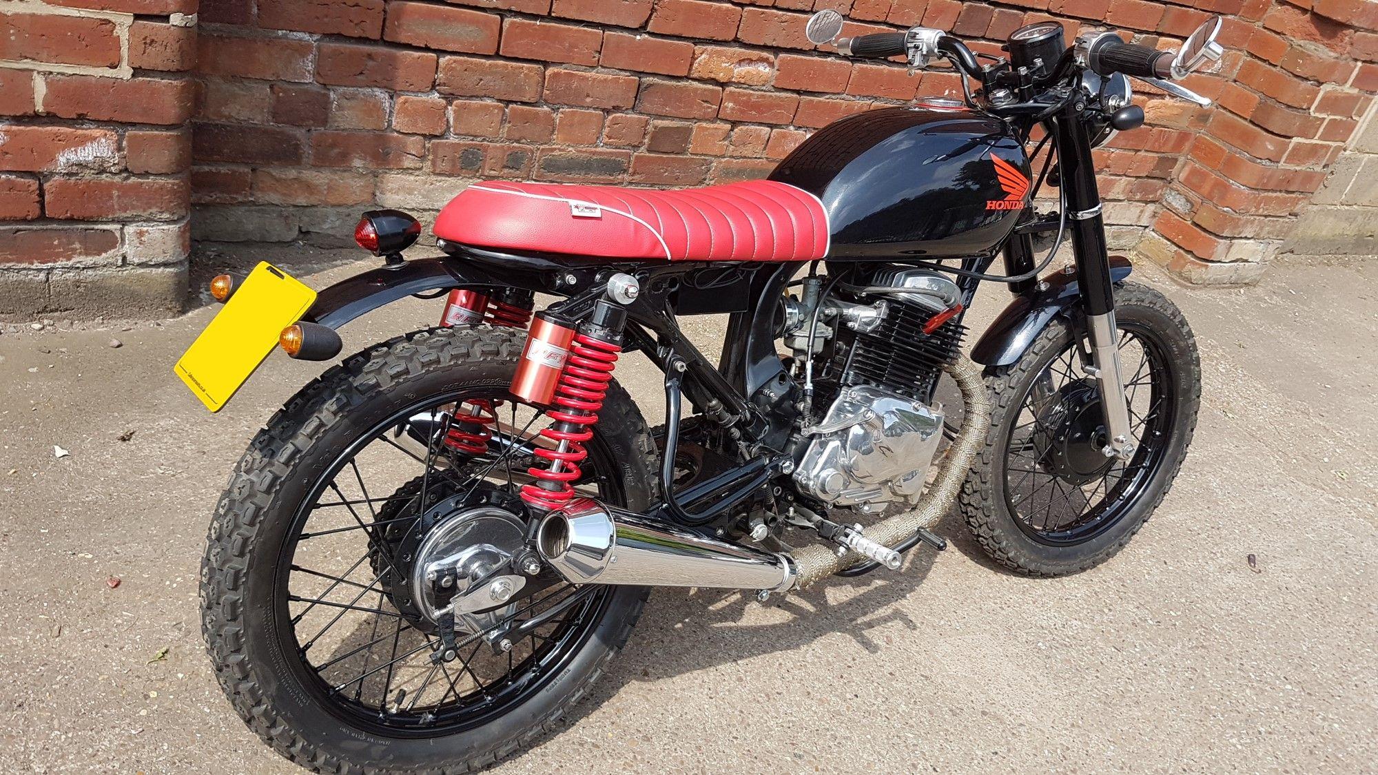(SOLD)(887) 1973 Honda CB750 Brat style Cafe Racer - MOTO PGH