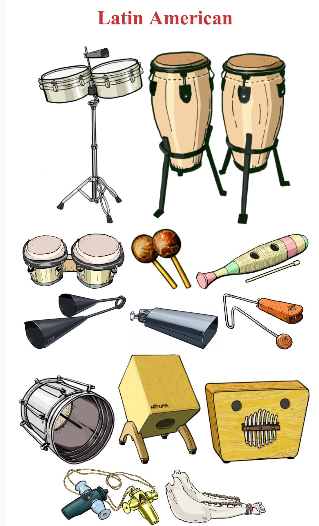 Latinoamerica I Up Down Left To Right 1 Timbales
