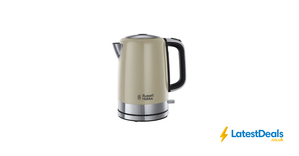 RUSSELL HOBBS Windsor 22820 Jug Kettle Cream at Currys