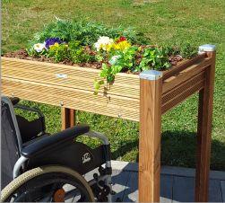 bacs jardiner papycool les jardini res sur lev es pmr personnes mobilit r duite de. Black Bedroom Furniture Sets. Home Design Ideas