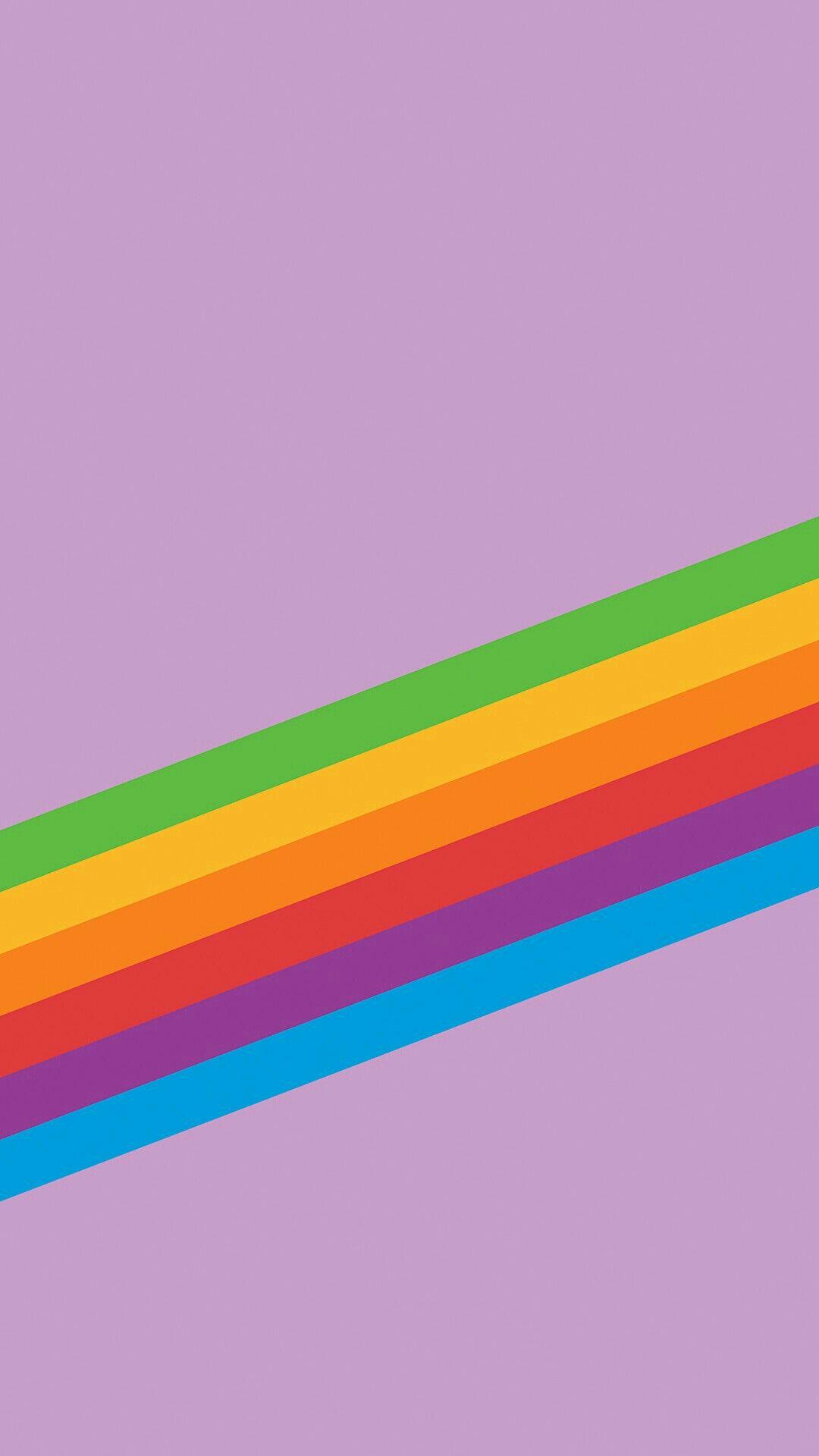Iphone rainbow wallpaper di 2020 | Pelangi