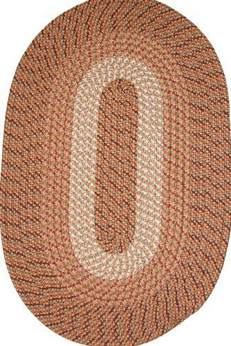 Plymouth 5 X 8 Braided Rug In Straw By Constitution Rugs