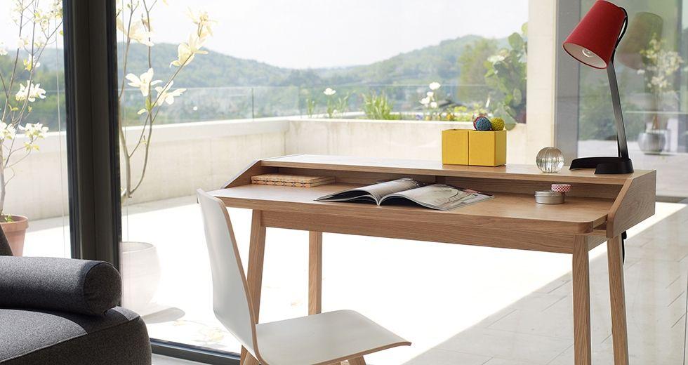 Schreibtisch Marshall Interio Chf 399 Holz Ideen Home Office Schreibtisch
