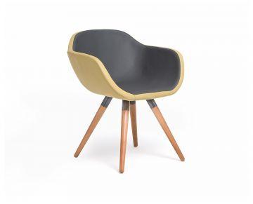Cadeira Mila - Amarela # Oppa
