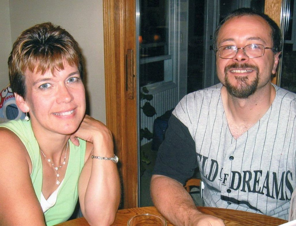 "Lori lost her husband and best friend to brain cancer. She volunteers for CaringBridge because ""It felt like we were being hugged by this whole support system behind us during a time when nothing in life seemed the same anymore."" http://caringb.org/q9"