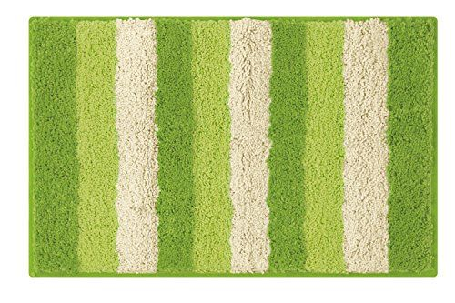 Lime Green Bath Mats To Add Color In Your Bathroom Striped Bath