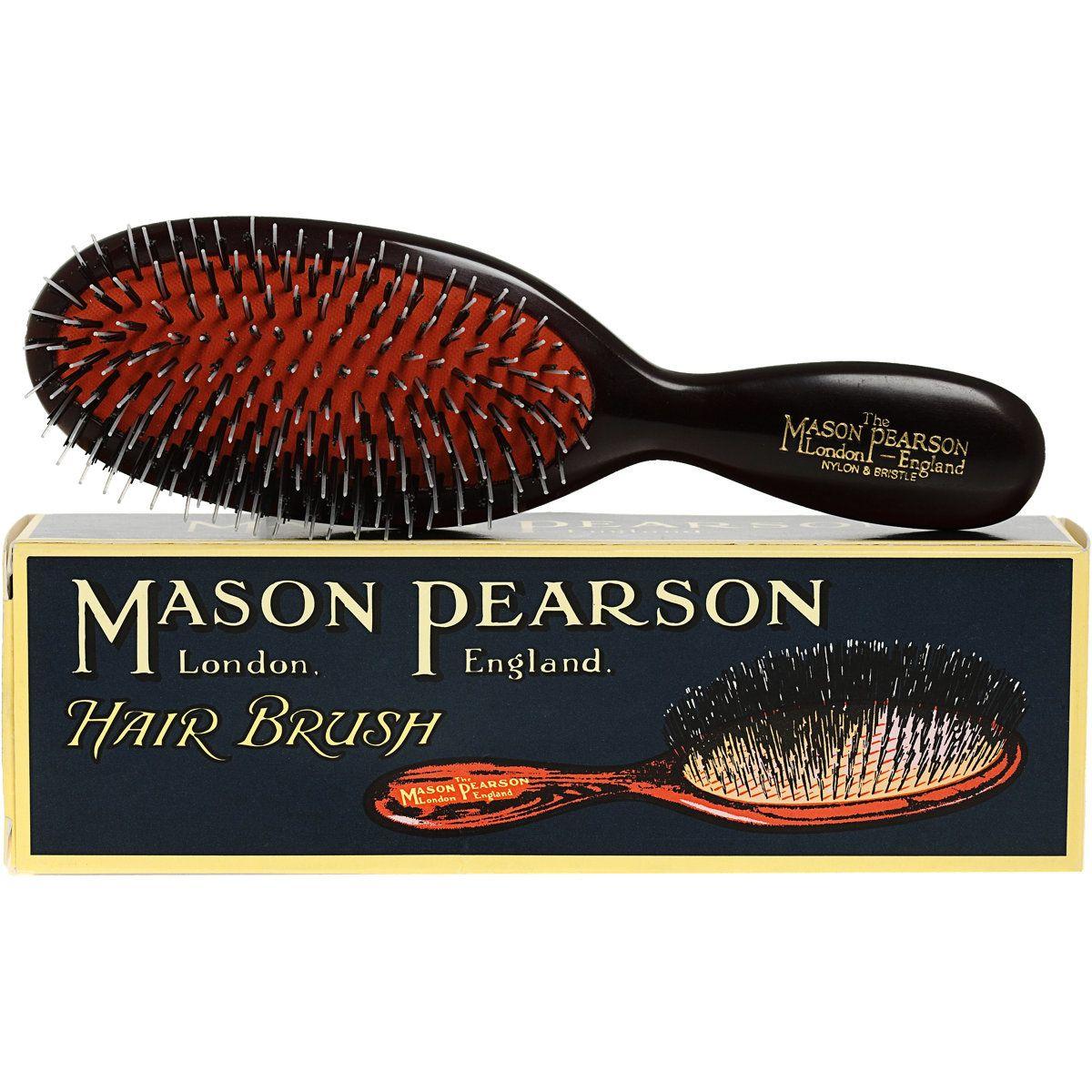 I don't count my brush strokes Marsha Brady-style. Promise   Mason Pearson Pocket Mixture Brush
