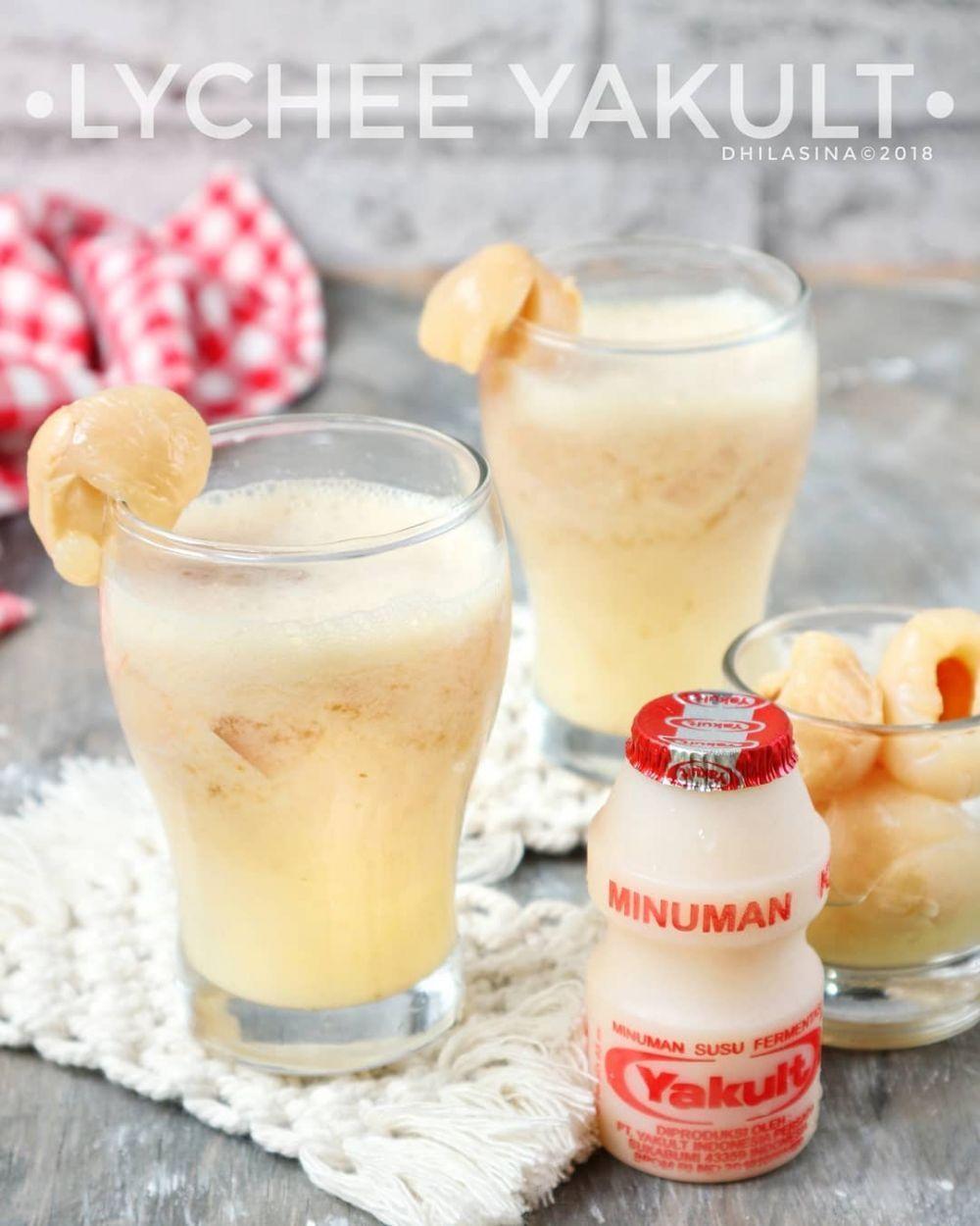 Resep Lychee Yakult Resep Minuman Resep Resep Juice