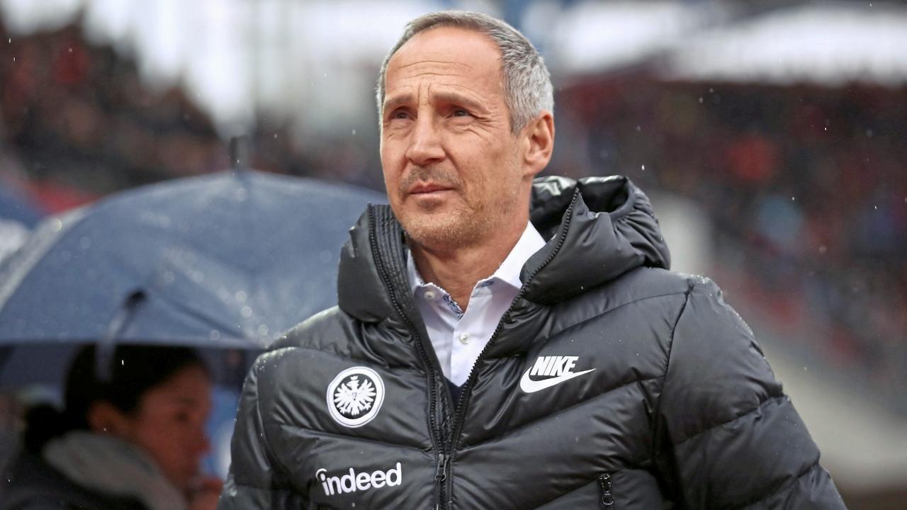Eintracht Trainer Adi Hutter Spieler Durfen Auch Mal Uber Mich