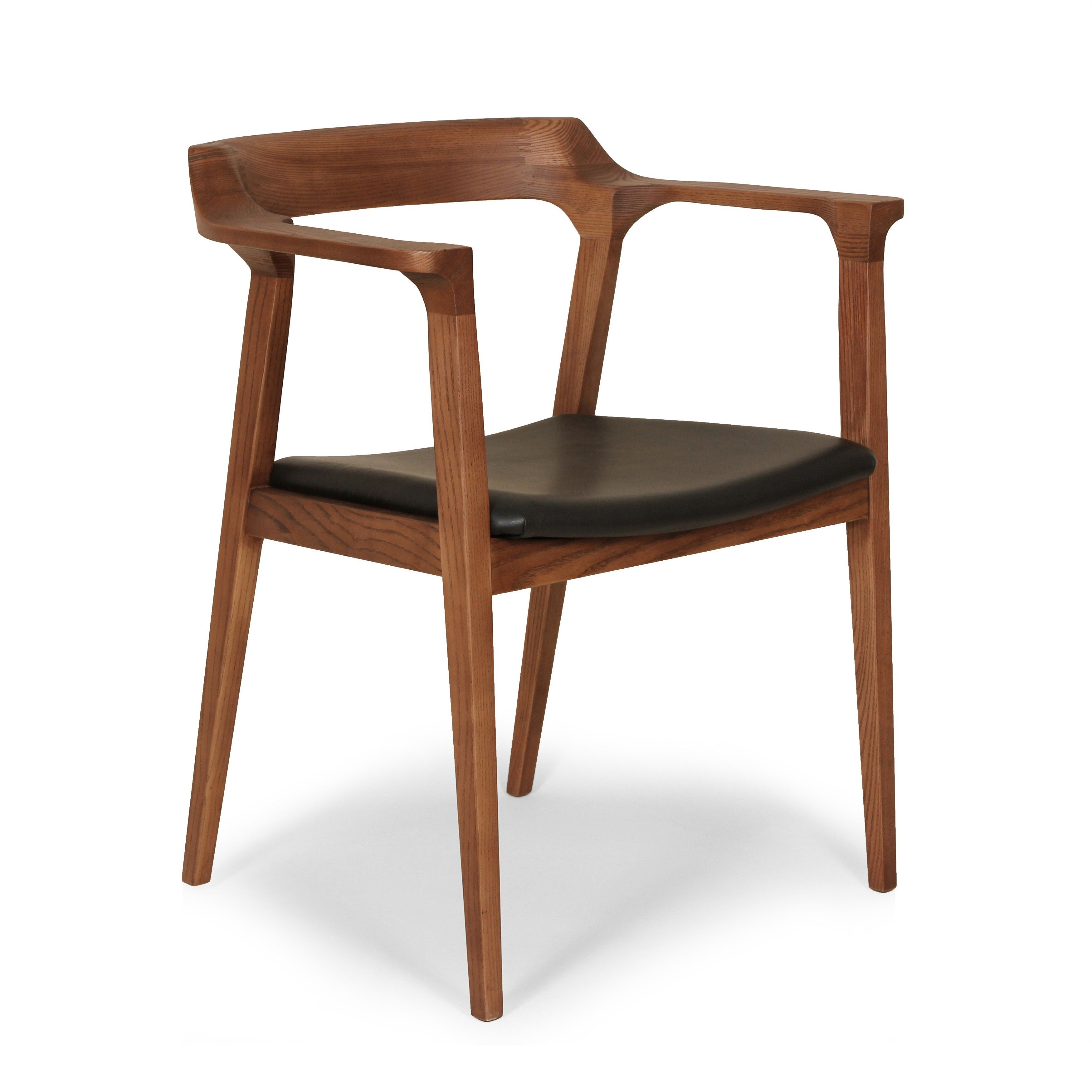 The Djursholm Arm Chair [FEC9022BLK] - Arm Chairs - Dining Room