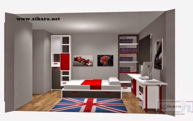 Blogger image 640 400 dormitorio for Muebles para dormitorios chicos