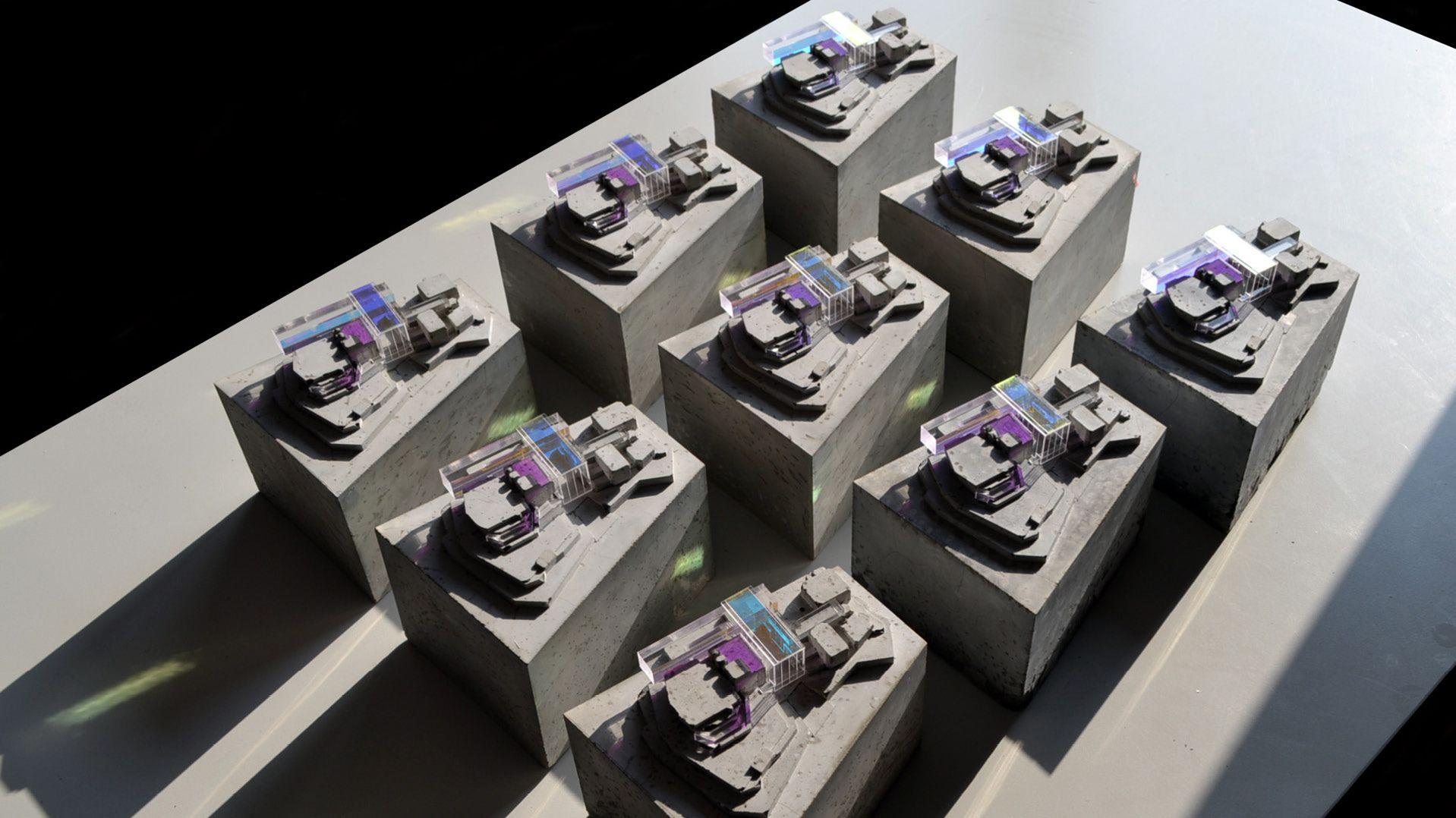 FCBStudios Southbank Centre Redevelopment London. Model by @kengrix