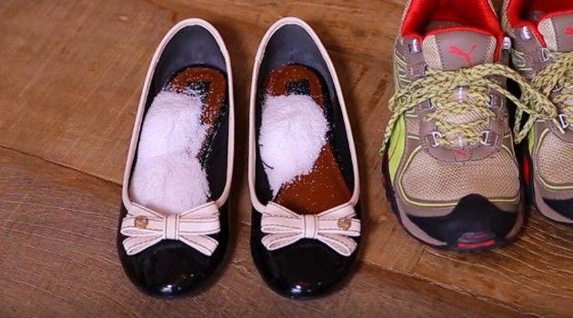 Se você deseja prolongar a vida útil e evitar aromas ruins nos sapatos