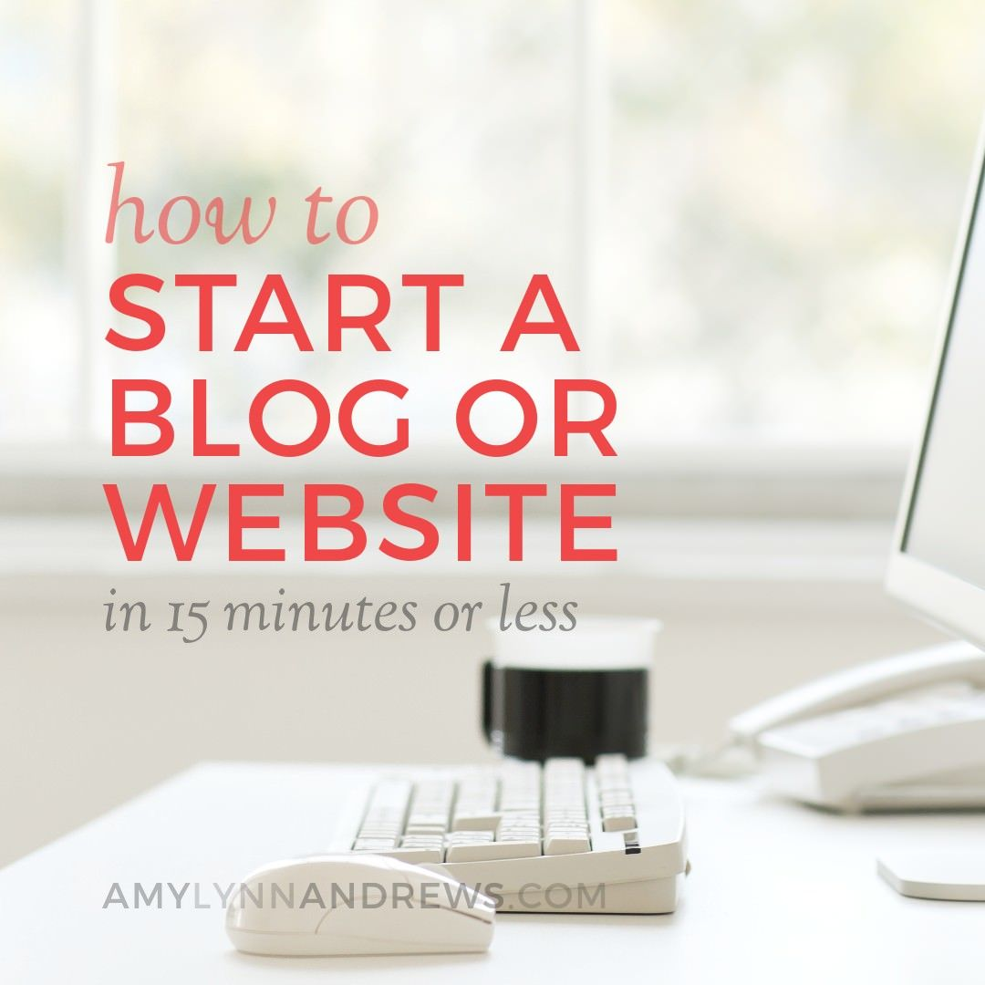 How To Start A Blog (to Make Money Or Otherwise)