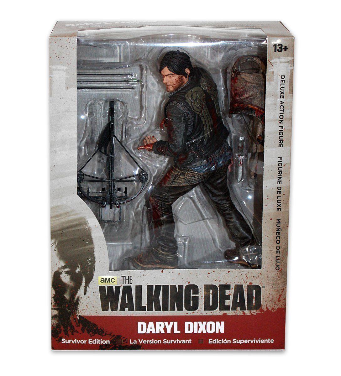 Mcfarlane walking dead series 6 daryl dixon action figure - Mcfarlane Toys The Walking Dead Survivor Daryl Dixon Deluxe Action Figure