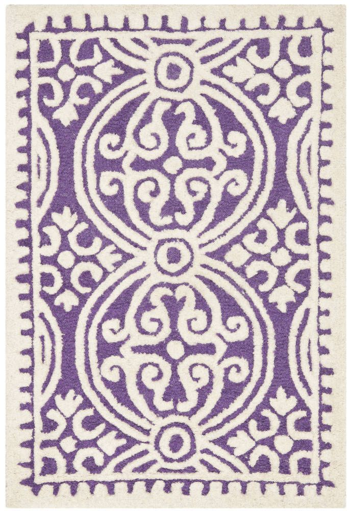 Marina Textured Area Rug Safavieh 32 40 Domino Com Purple Area Rugs Wool Area Rugs Geometric Area Rug