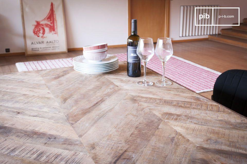 Lavorare Il Legno Grezzo : Tavolo dai piedi compatti tongeren legno grezzo tavolo da