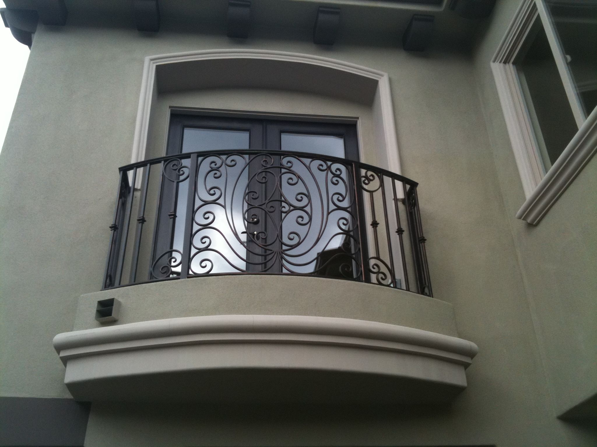 Iron Railings Balconies From Cantera Doors Are Designed With One Sole Purpose To Turn Your Stairway Or Balcony Into A Stunning Work Of Art