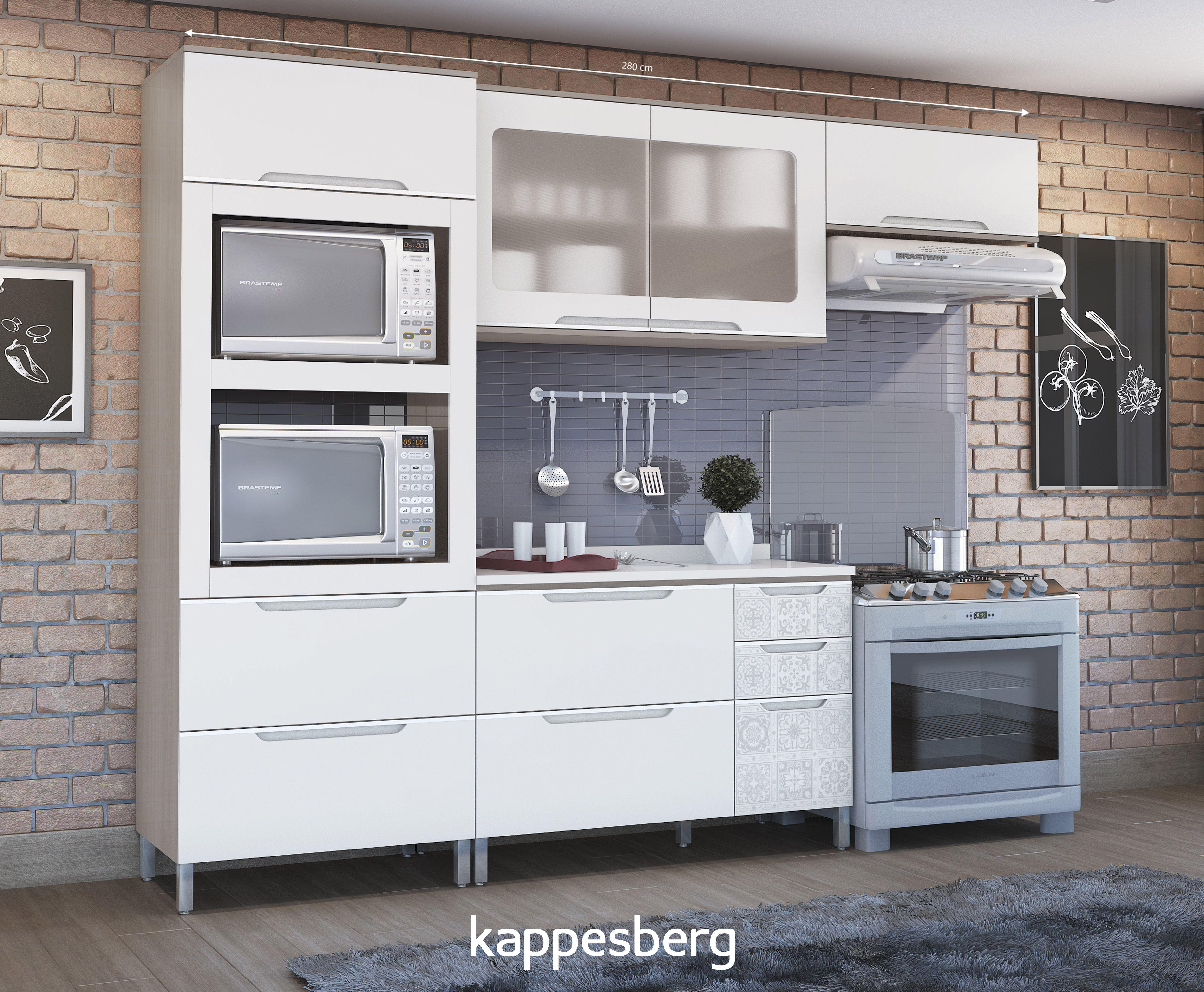 Ao Projetar Uma Cozinha Com Os M Veis Modulados Voc Tem A Liberdade