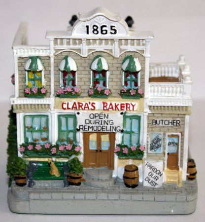 Clarau0027s Bakery    A Collectible Building. Cute Decoration For The Holidays!  Building A