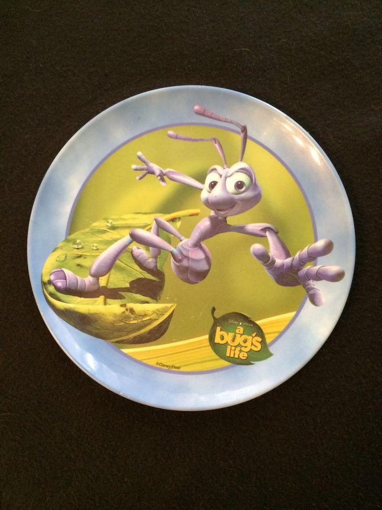 Children S Plastic Plate Disney S A Bug S Life Zak Designs 8 Plastic Plates Zak Designs A Bug S Life