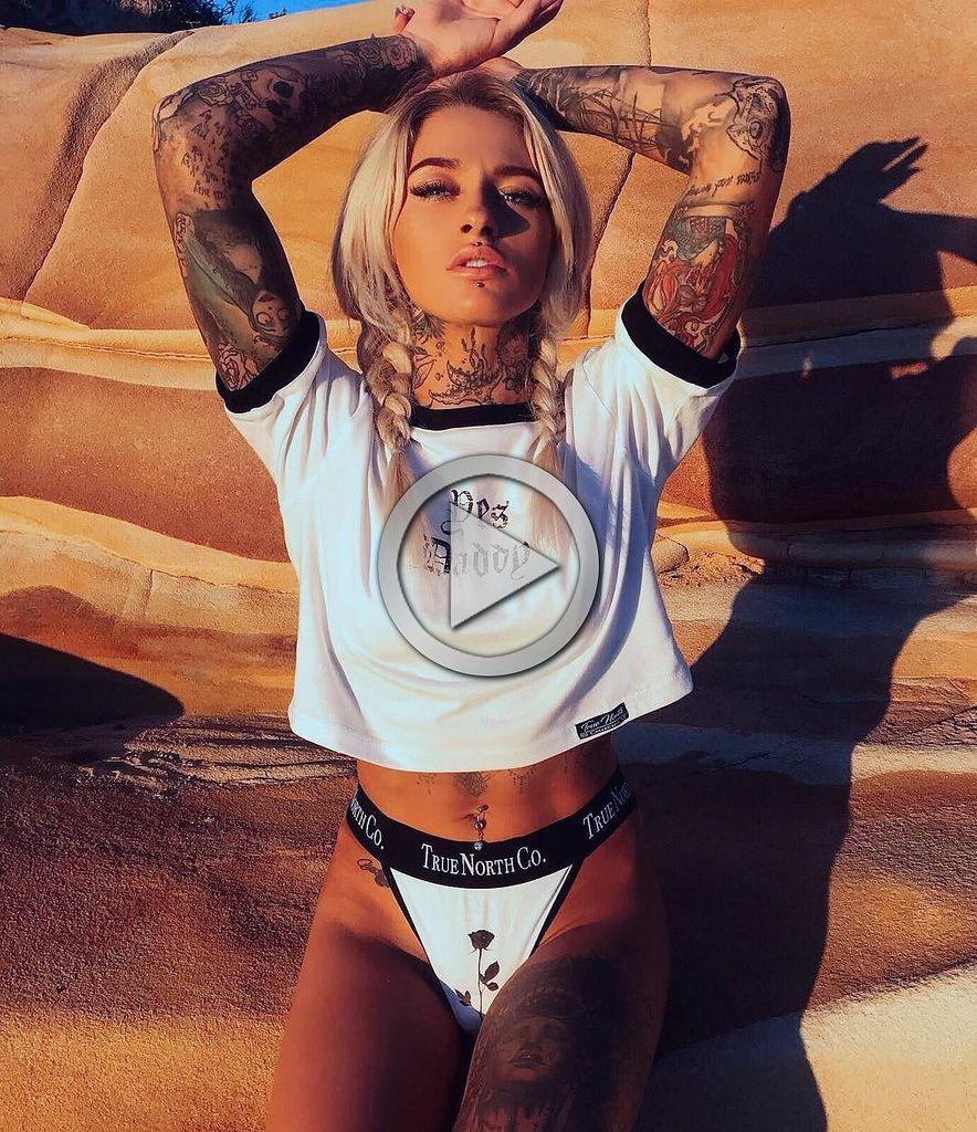 Pin Auf Tatto Girl Cum