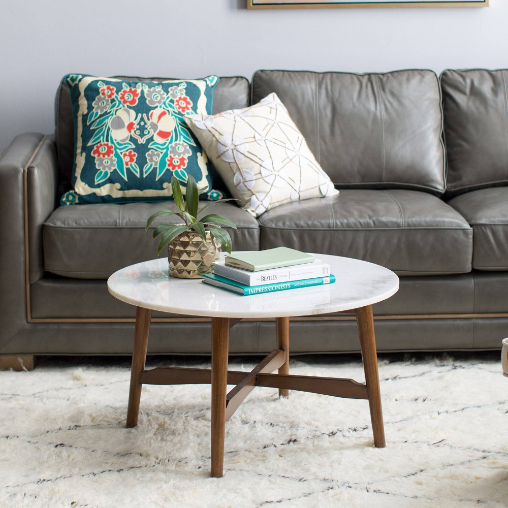 Balham Living James Round Mid Century Modern Marble Coffee Table Google Search Mid Century Modern Coffee Table Coffee Table Marble Top Coffee Table [ 1000 x 1000 Pixel ]