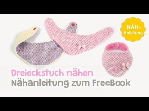 Dreieckstuch Baby Halstuch Nähen Für Babys Und Kinder Nähen