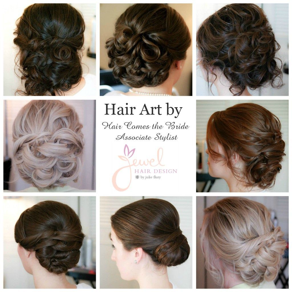 Wedding Hair Designs - Hair comes the bride associate stylists jewel hair design bridalhairstyleideas bridalhairideas