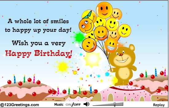Look what my mom sent me although my BDay is tomorrow Love – Interactive Birthday Cards Free