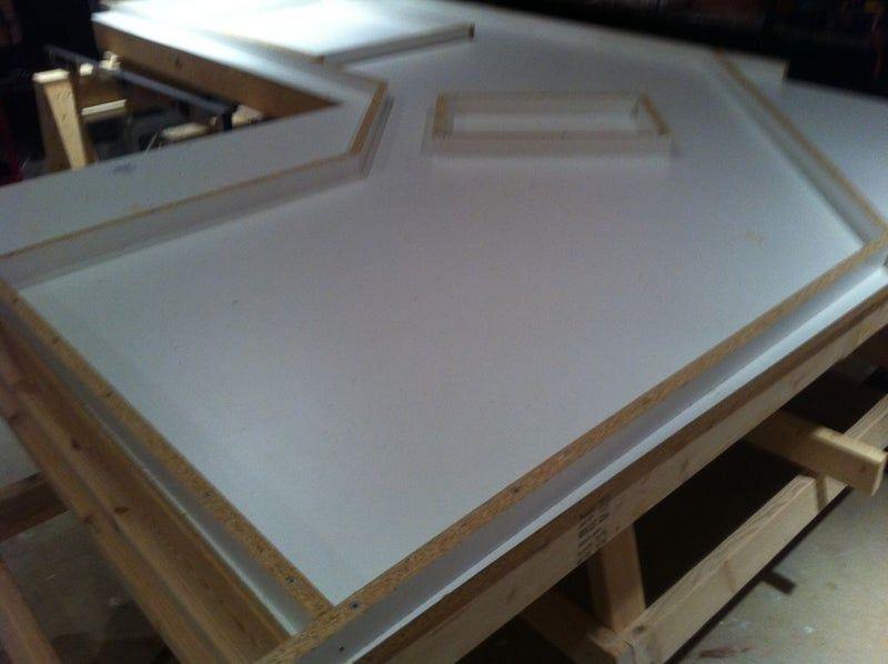 Outdoor Kitchen With Concrete Countertops Diy Outdoor Kitchen