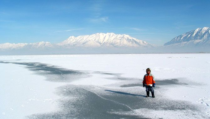 Top 10 things to do at Utah Lake when it's Frozen