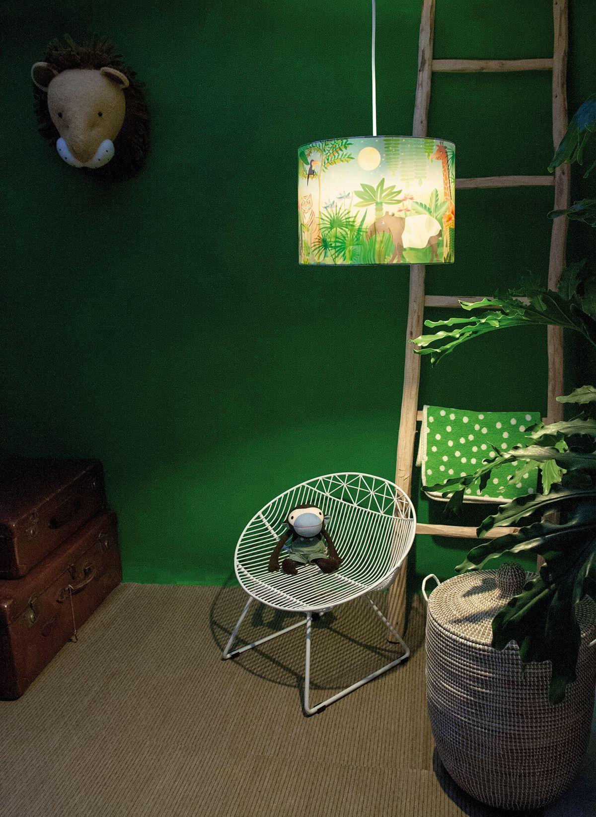 Fresh Wonderlamp Jungle hartendief lamp kidslamp jungle kids jungleroom