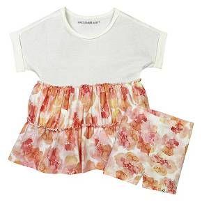 Burt's Bees Baby Infant Girls' Tunic & Short - Floral/Multi : Target
