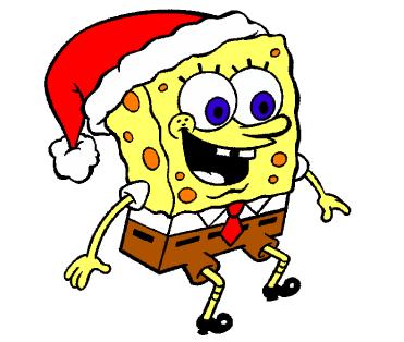 Sungerbob Noel Baba Kiliginda Ancak Bu Sadece Bir Boyama Sayfasi 3