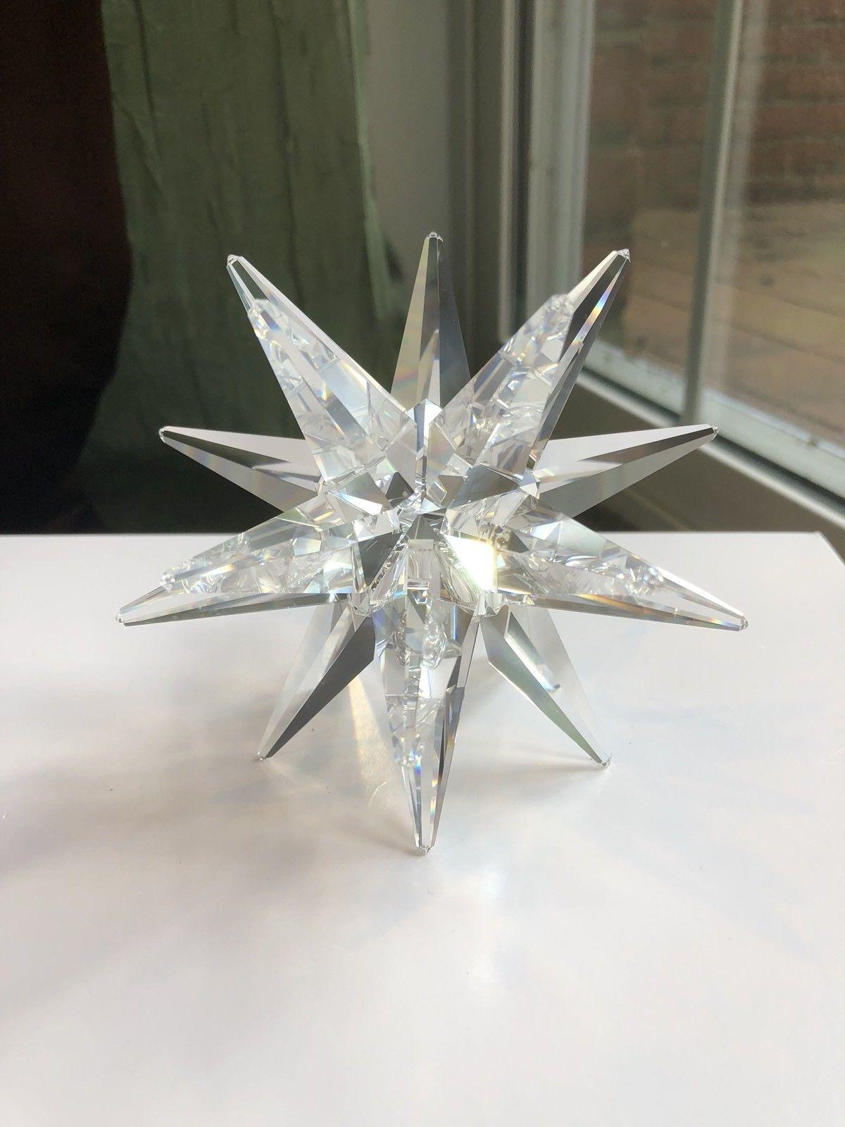 Swarovski Crystal STAR CANDLE HOLDER ** With ORIGINAL Box