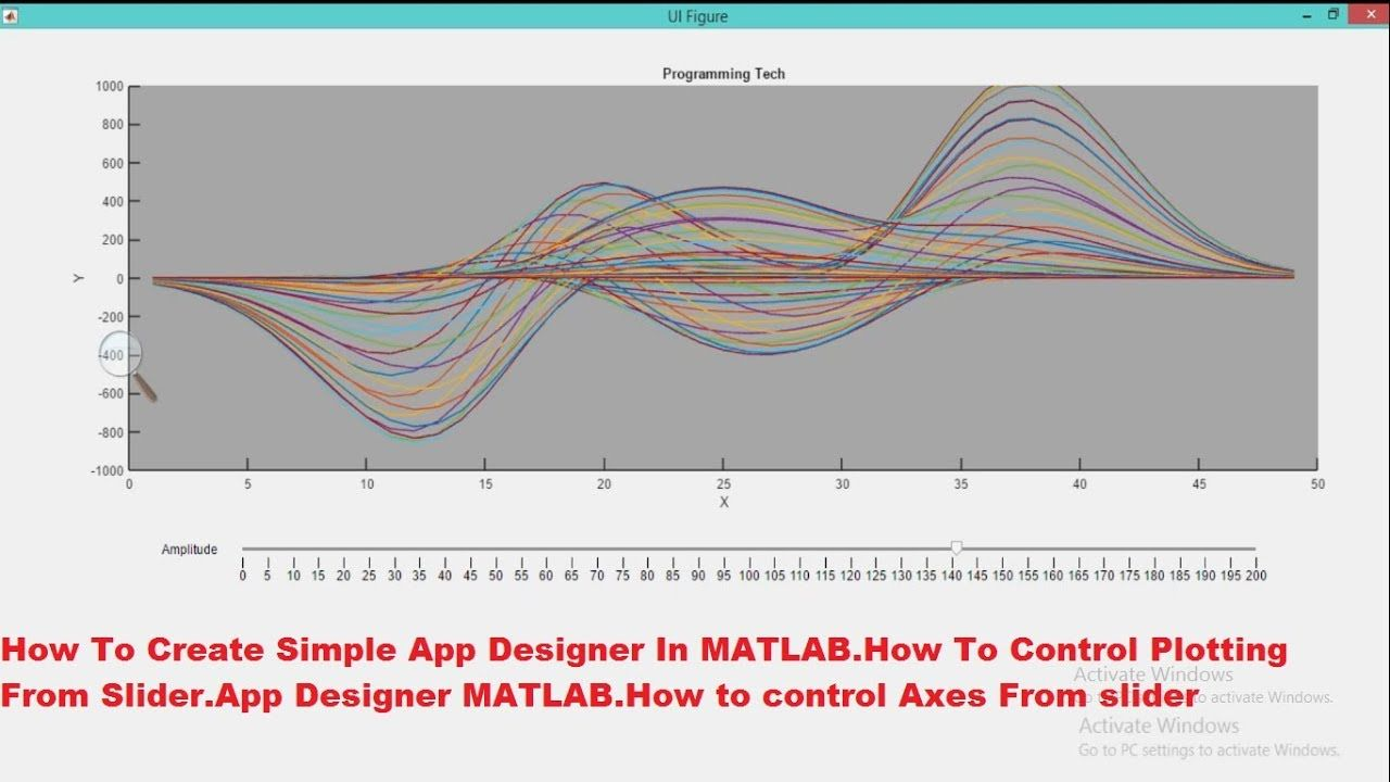 How To Create Simple App Designer In MATLAB.How To Control