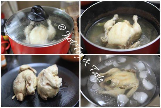 Resep Nasi Ayam Hainan Komplit Dengan 3 Macam Saus Makanan Resep Masakan Resep Makanan