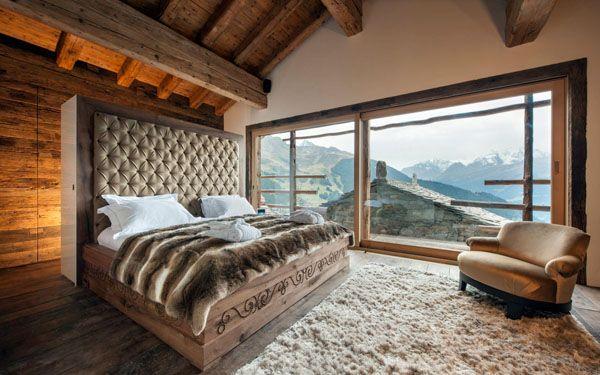 Magnificent Chalet Trois Couronnes In Switzerland Chalet Design Home Luxury Interior