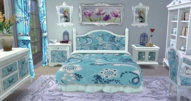 Bedroom Style Shabby. - pqSim4