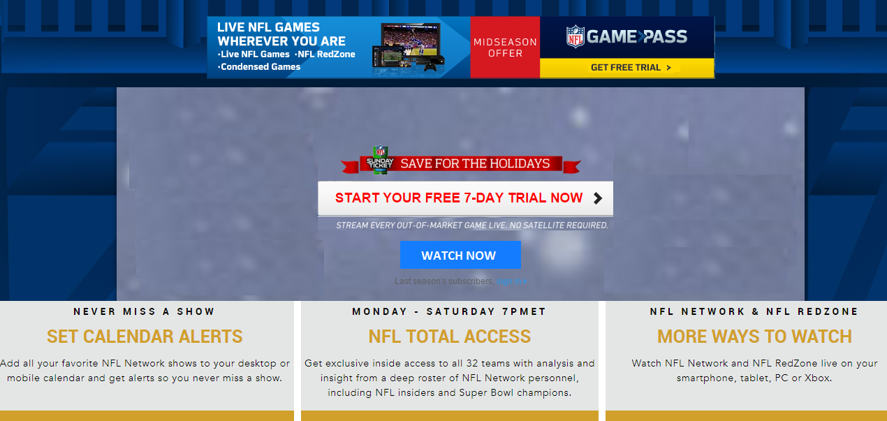 How To Watch NFL Games Live Stream NFL Game All Week Free