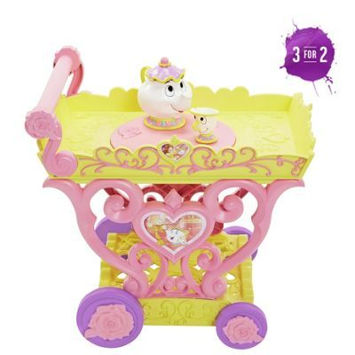 Buy Disney Princess Belle Tea Party Cart Playset at Argos.co.uk, visit Argos.co.uk to shop online for Character playset and dolls, Cooking role play