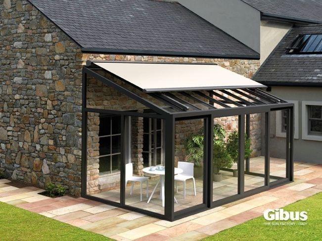 Zerogradi Outdoor rooms Pinterest Verandas, Pergolas and Sunrooms - store exterieur veranda prix