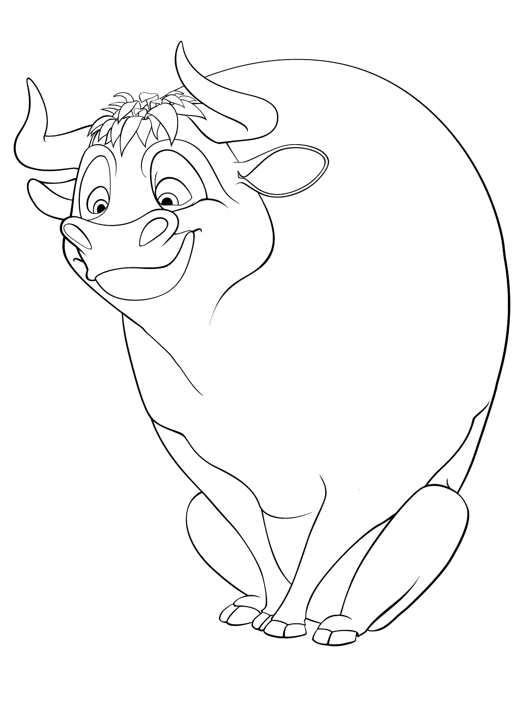 ferdinand coloring pages Free Printable Ferdinand Coloring Pages | Birthday Party  ferdinand coloring pages